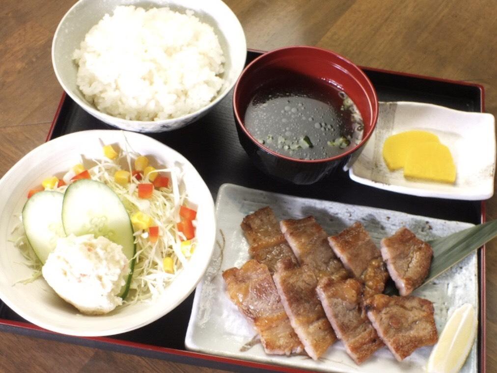 牛ステーキ定食 - Beef Steak Teishoku -