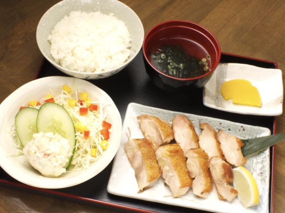 グリルチキン定食 - Grilled Chicken Teishoku -