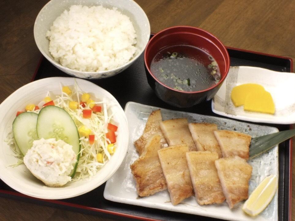 豚ステーキ定食 - Pork Steak Teishoku -